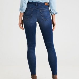 AEO dream jeans high waisted Medium wash jegging